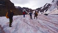 Через перевал н.Шавлинский к леднику Машей. Автор: Александр Кусков