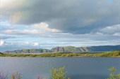 Стоянка на озере около Териберки