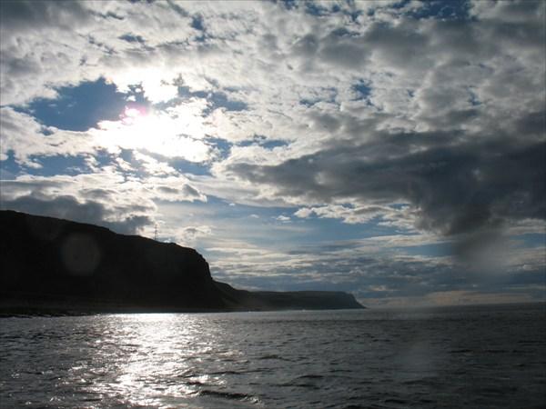 Вид на Кильдин со стороны моря