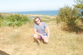 на горизонте `пресное озеро`,за ним Азов