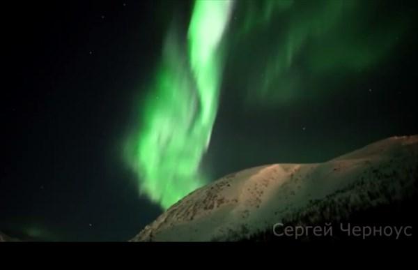 Мы видели потрясающее северное сияние!