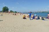 Общий вид в сторону пляжа