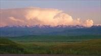 Закат над Тянь-Шанем