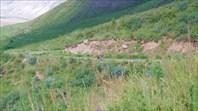 Подъем на перевал Кырк Кыз
