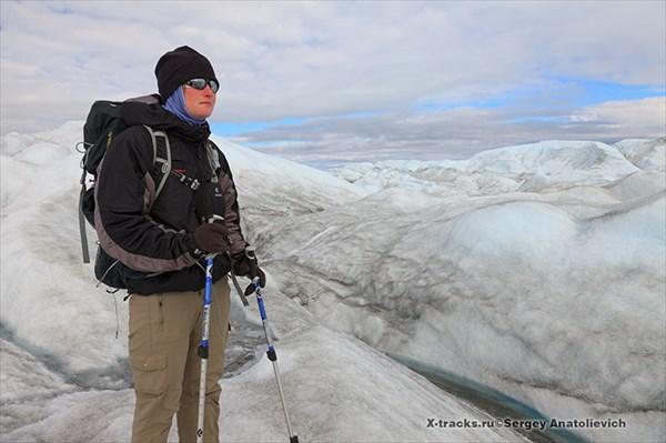 ЗаКат на леднике.