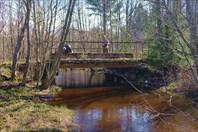 Старт от моста за Якушево