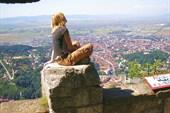 на горе Тампа что над Брашовым высота 980м