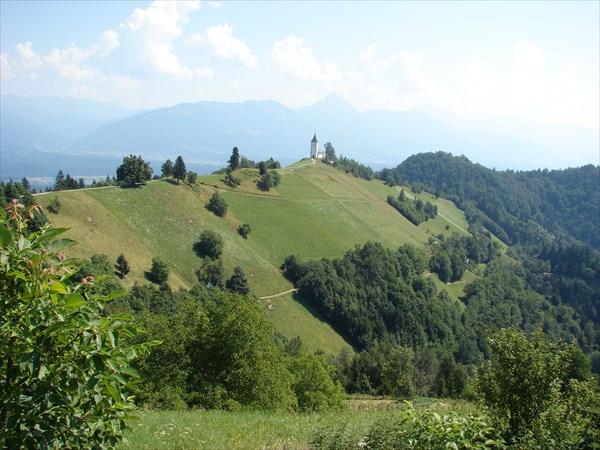 Горные виды в Словении
