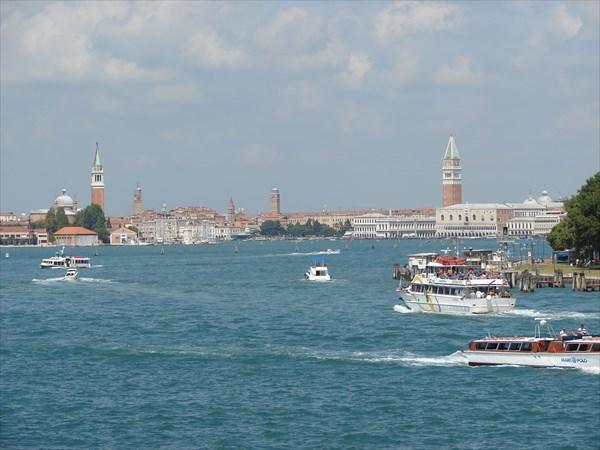Венеция, вид с корабля