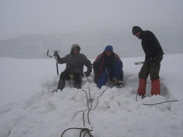 DSC01583 Готовим площадку для палатки