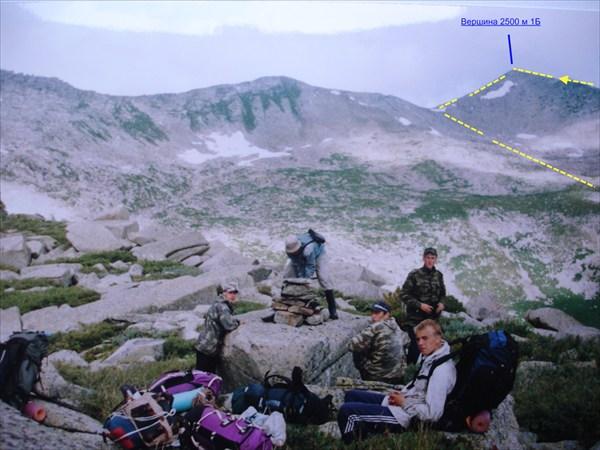 DSC02216 На перевале Партизанский первопрохождение.