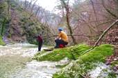 фотосессия у водопада `Галстук`