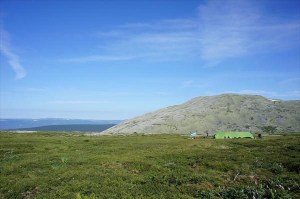 День четвертый. 02.07.13. Вид на вершину 1158 м.