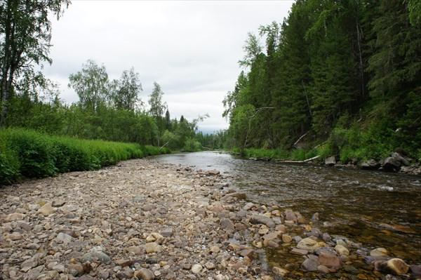 Река Сосьва.