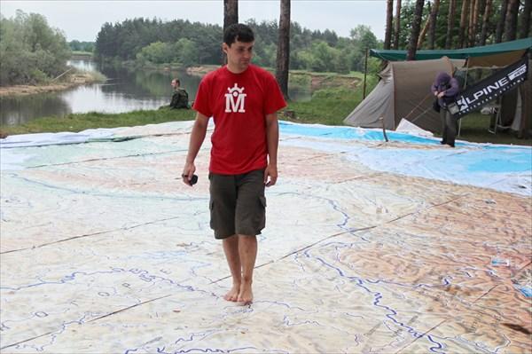 Рома тестирует карту России