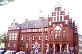 Здание администрации в Кентшине.