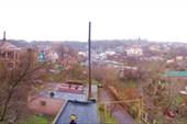 Вид из окна санатория МЧС (Рыбачья балка)_