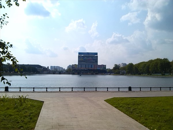 Главное здание первого канала