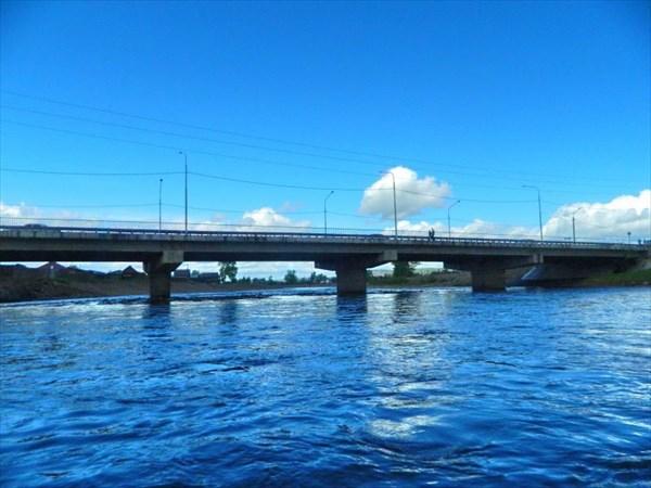 Мост в Нижнеудинске