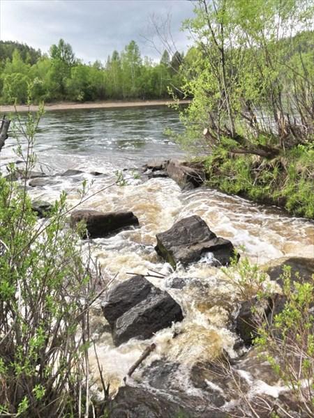 Водопад Уковский.