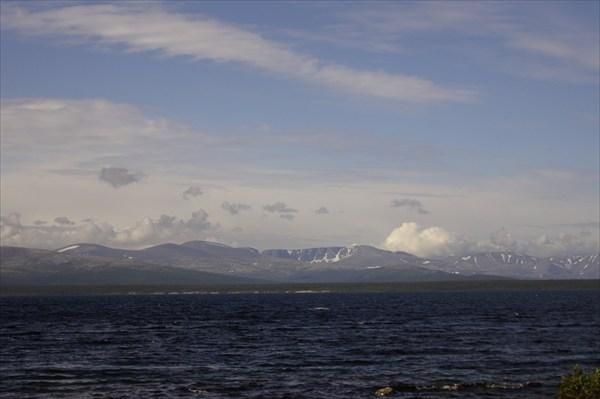 Умбозеро и Хибины
