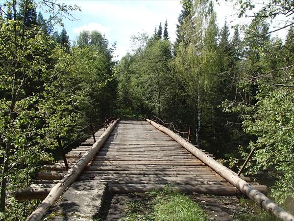 Мост через р. Юрюзань