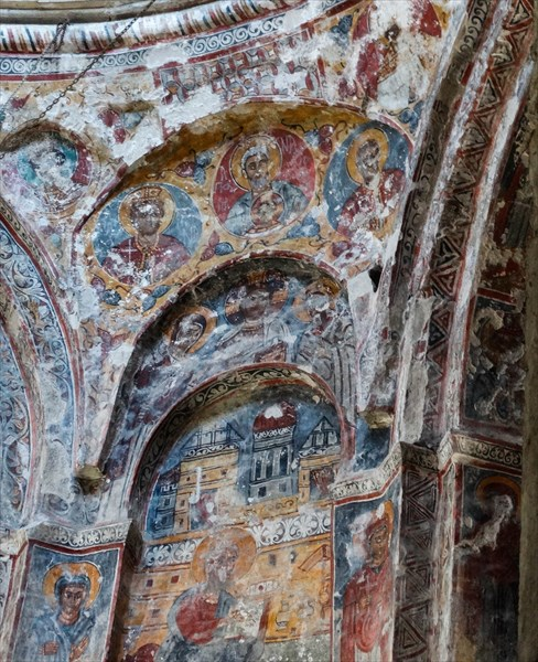 Фрески храма Мартвильского монастыря
