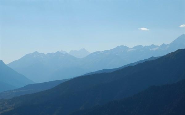 Горы в Сванетии