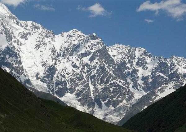 Гора Шхара .Сванетия .Грузия