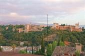Альгамбра со смотровой площадки Сан Николас