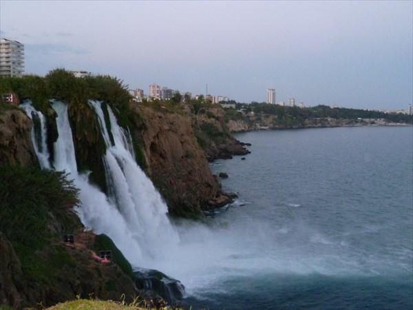 Водопад Дюден нижний