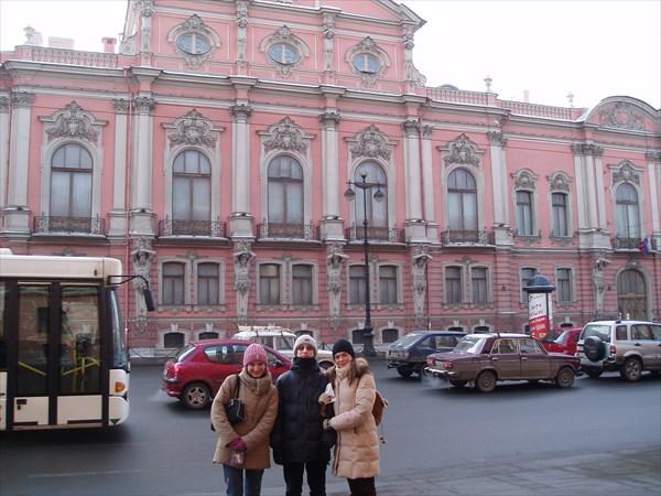 Дворец Белосельских-Белозерских, Невский проспект