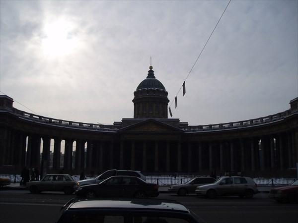 Казанский Кафедральный Собор, Санкт-Петербург, Казанская площадь