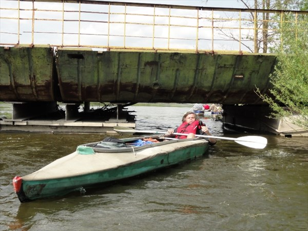 Мост в Стрельчинцах - прополз!