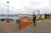 На берегу Золотого Рога, новый Стамбул