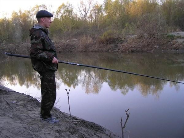 """Рыбалка на """"лосиной""""."""