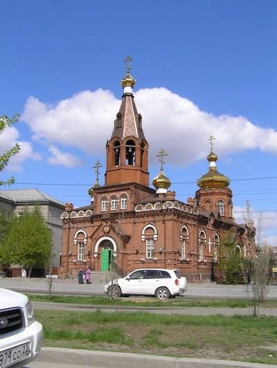 Свято - Никольская церковь