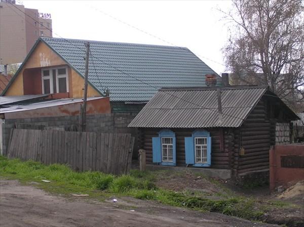 Частный сектор Новосибирска.