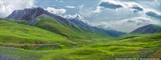 Прощальный взгляд на долину Восточного Каракола