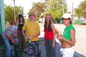 Группа ростовских туристов, готовая к старту