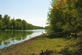 река Аксай на территории заповедника