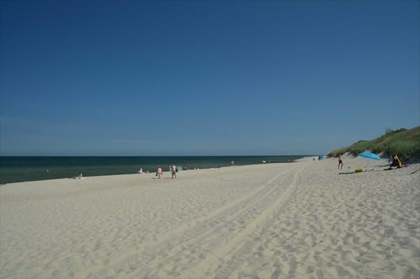 Пляж в Ниде