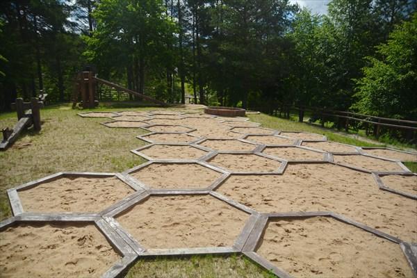 Песочница в музее пчеловодства