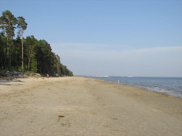 Пляж в Пярну