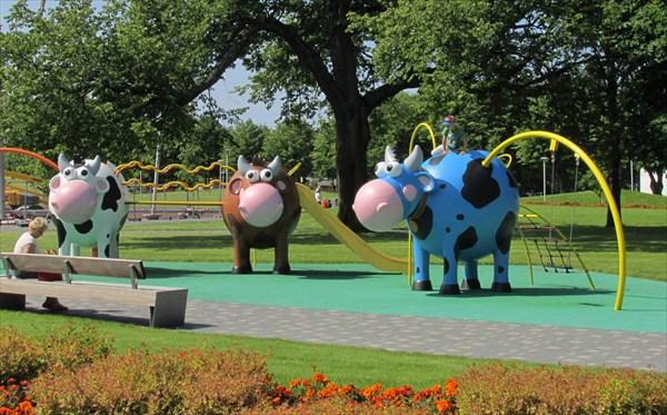 Везде коровы