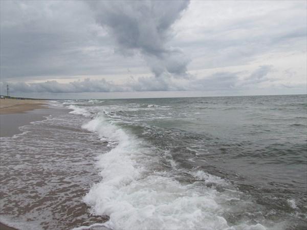 Пляж в Юодкранте