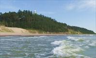 Ужавский маяк с моря