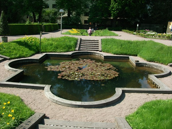 Старый Линнеевский ботанический сад