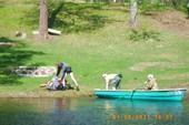 Переправа через пролив Михалевского озера