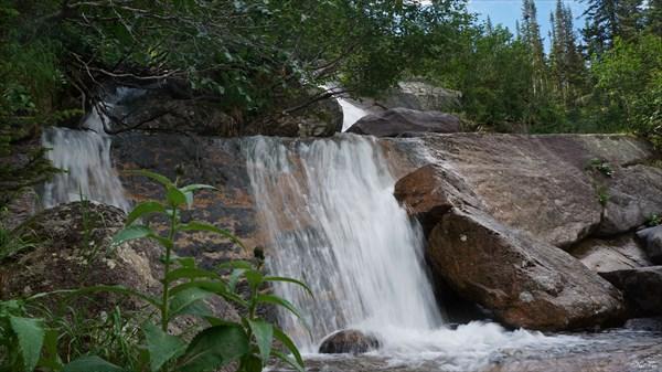 Водопад на Левом Тайгише